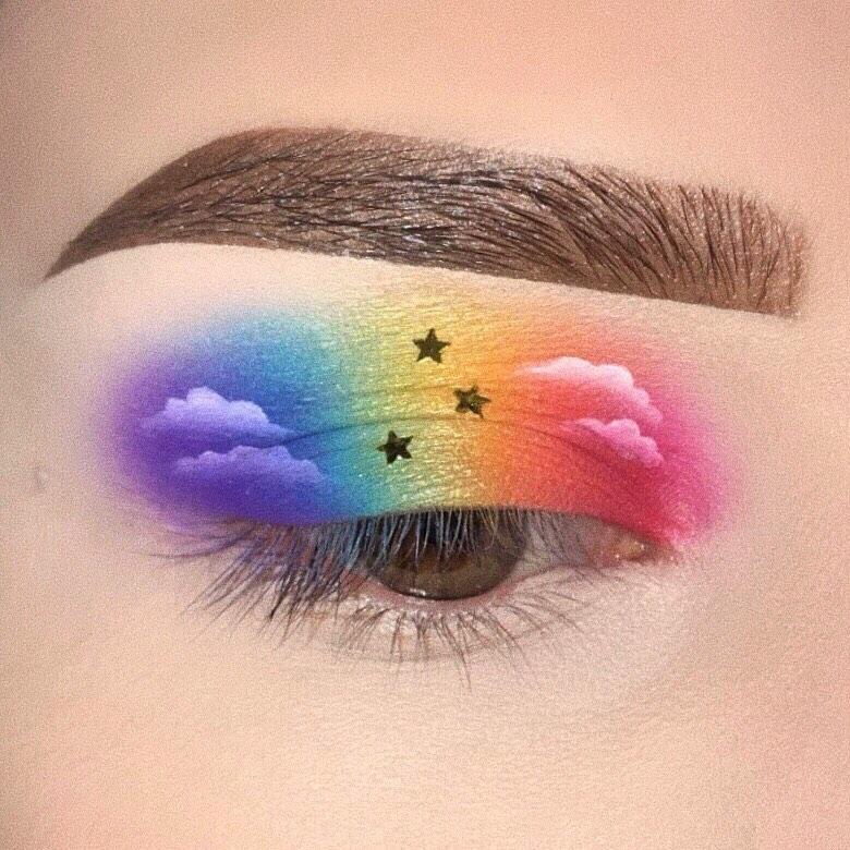 Colorful Eyeshadow Tutorial So Sweet You Can Taste The Rainbow